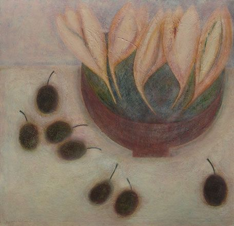 Crocus and Plums - Vivienne Williams