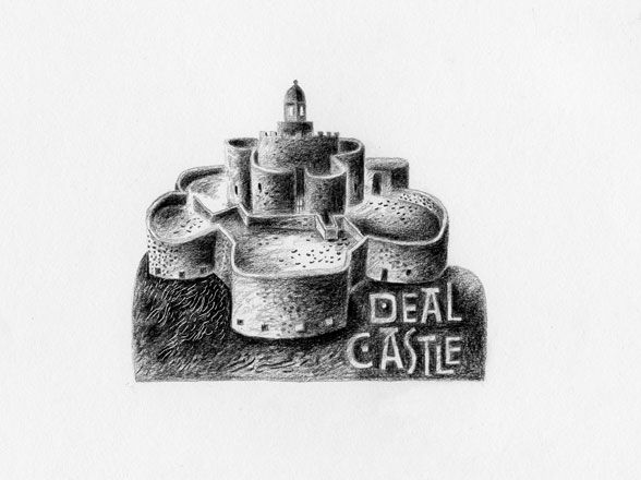 Deal Castle - English Heritage - Clive Hicks-Jenkins