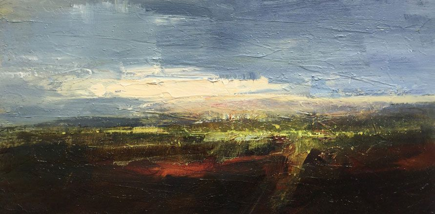 Dusk on the Levels, Wentloog - Richard Barrett