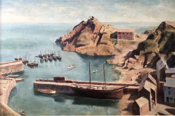 Polperro Harbour - Evan Charlton