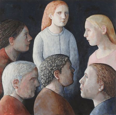 Group of Friends - Evelyn Williams