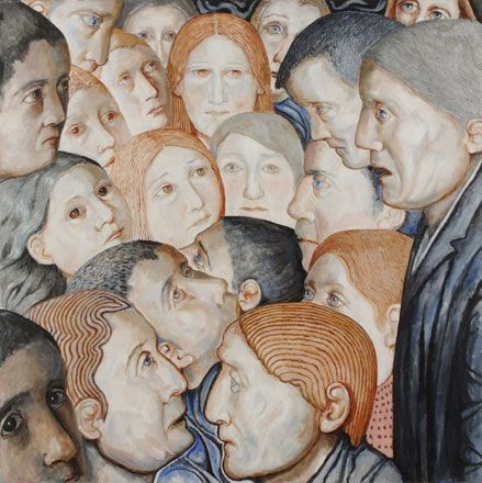 People Meeting For No Particular Reason - Evelyn Williams
