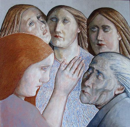 Three Angels - Evelyn Williams