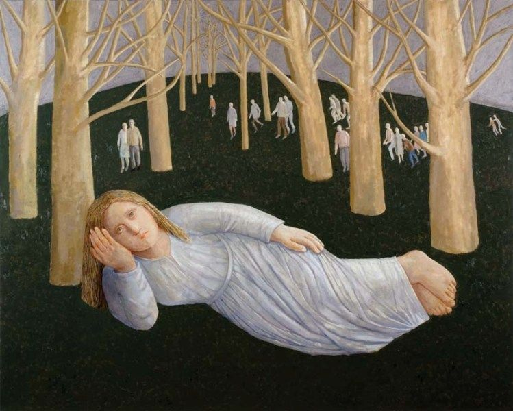 The Girl in a Wood - Evelyn Williams
