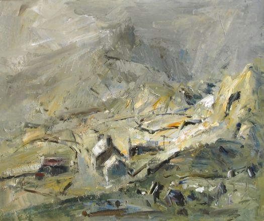 Fferm Fynydd ar ol y Glaw / Mountain Farm After The Rain - Gareth Parry