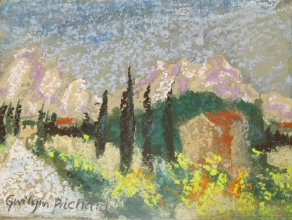 Summer, Provence - Gwilym Prichard