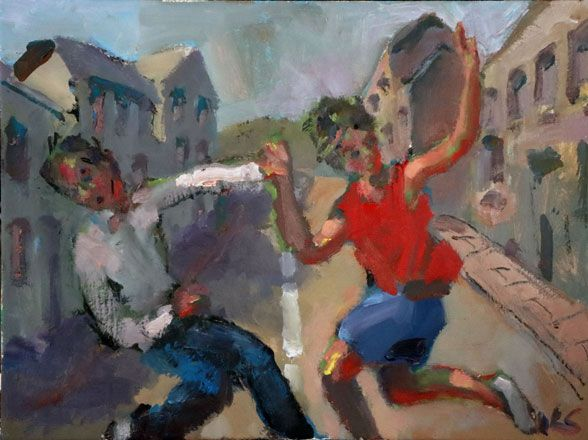 In the Street II - Kevin Sinnott