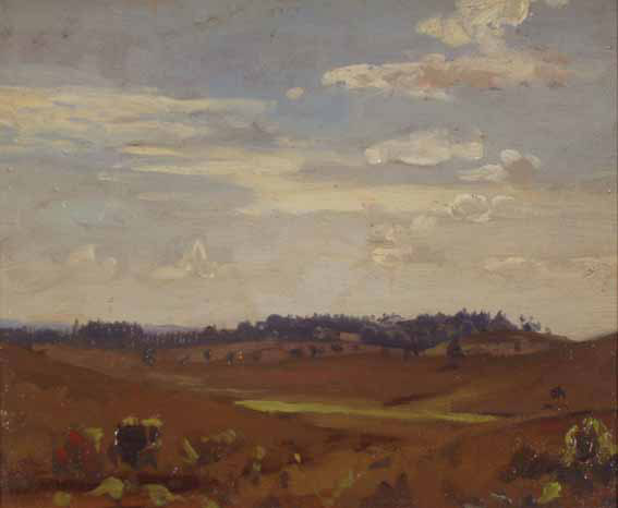 Landscape with Clouds - James Dickson Innes