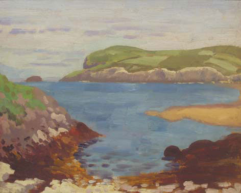 Rocky Cove - James Dickson Innes