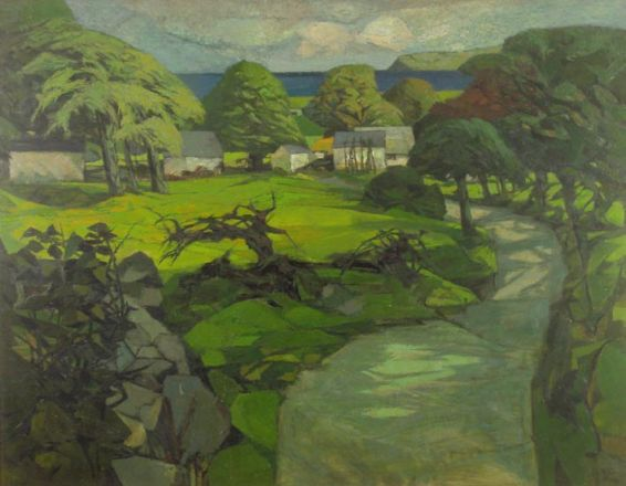 The Road to Gower - John Elwyn