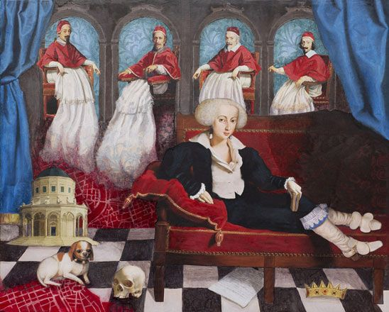 Christina and the Four Popes - Kate Milsom