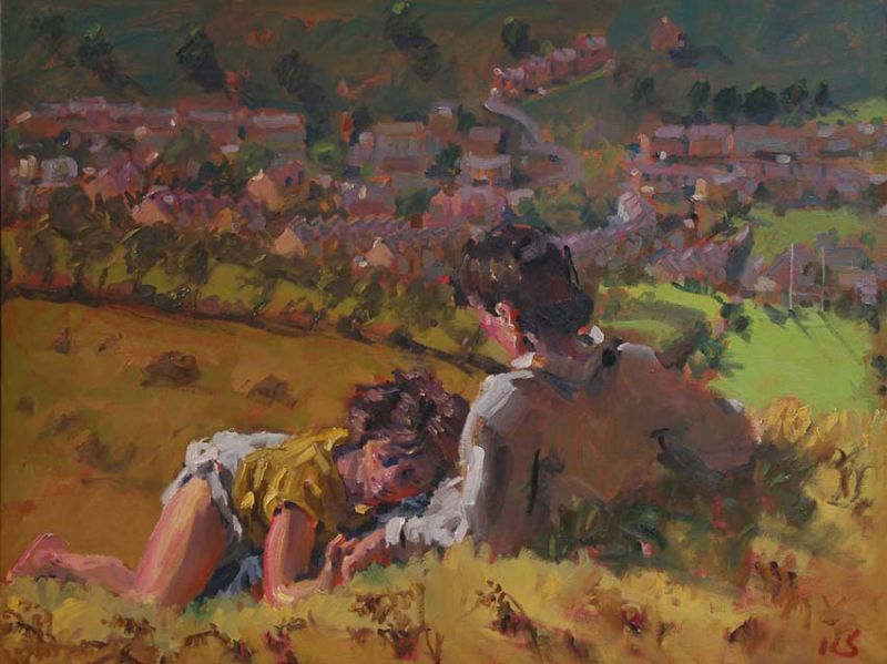 On a Hillside - Kevin Sinnott