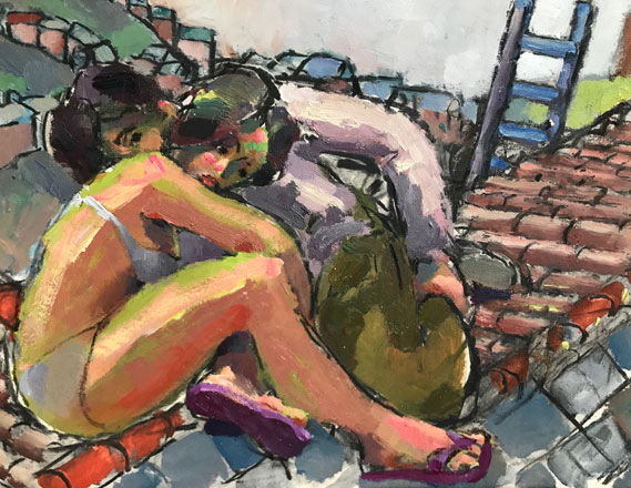 On the Roof - Kevin Sinnott
