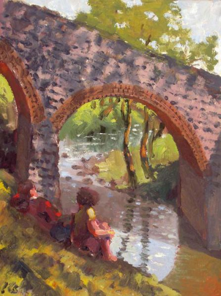 The Old Bridge, Pontyrhyl - Kevin Sinnott