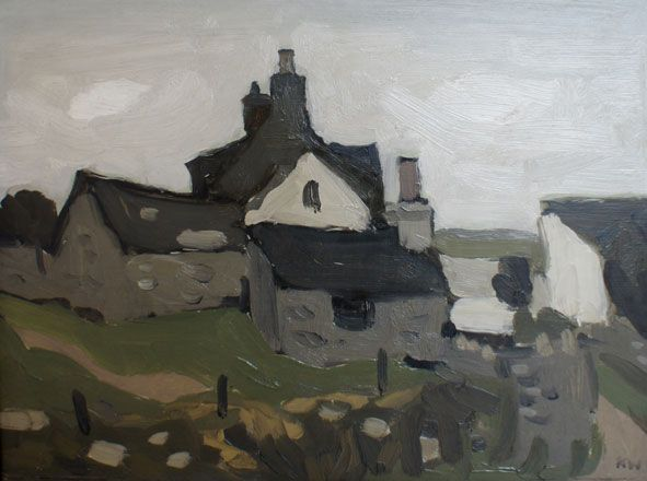 Farm at Cemaes - Kyffin Williams