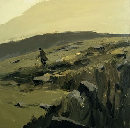 Dafydd Williams on the Mountain - Kyffin Williams