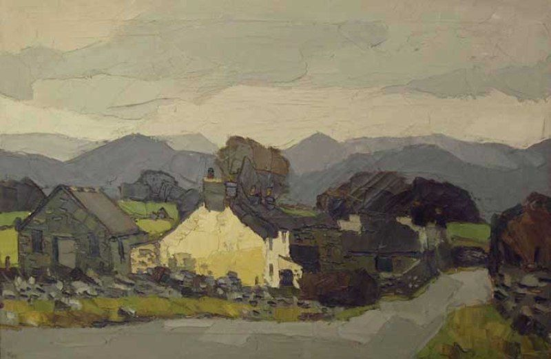 Sling, Llanddona, Anglesey - Kyffin Williams