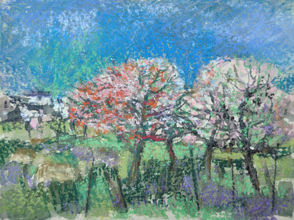 Orchard, Brittany - Gwilym Prichard