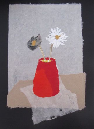 The Red Vase - Rosemary Burton