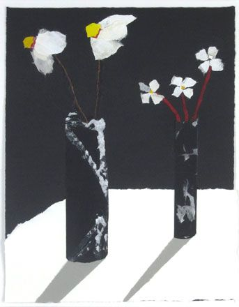 White Flowers - Rosemary Burton