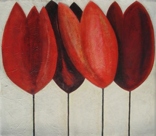 Red Tulips - Vivienne Williams