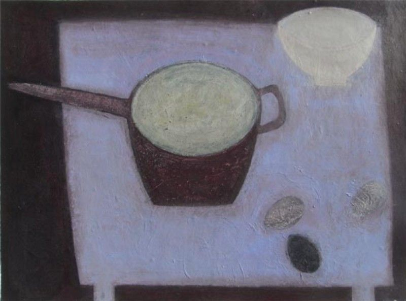 Still Life with Saucepan - Vivienne Williams