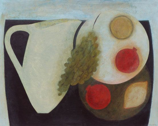 Jug, Pomegranates, Lemons and Grapes - Vivienne Williams