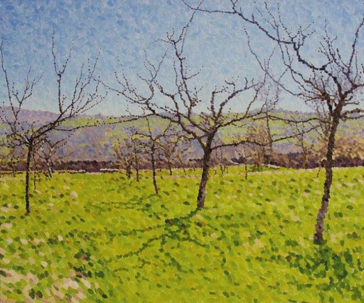 The Orchard, Spring Morning - William Wilkins