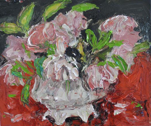 Roses in a Ceramic Bowl - Shani Rhys James