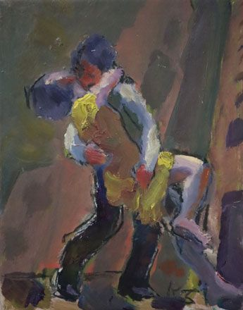 Study for Urban Dance - Kevin Sinnott
