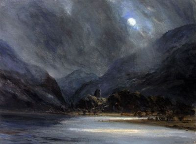 Moonlight over Llyn Padarn - Keith Andrew